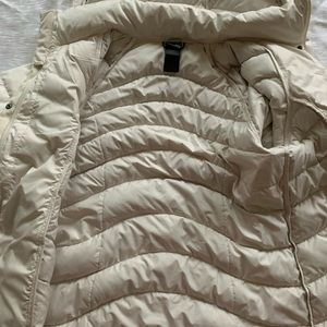 The North Face Jackets & Coats - The North Face cream coat/ jacket size med